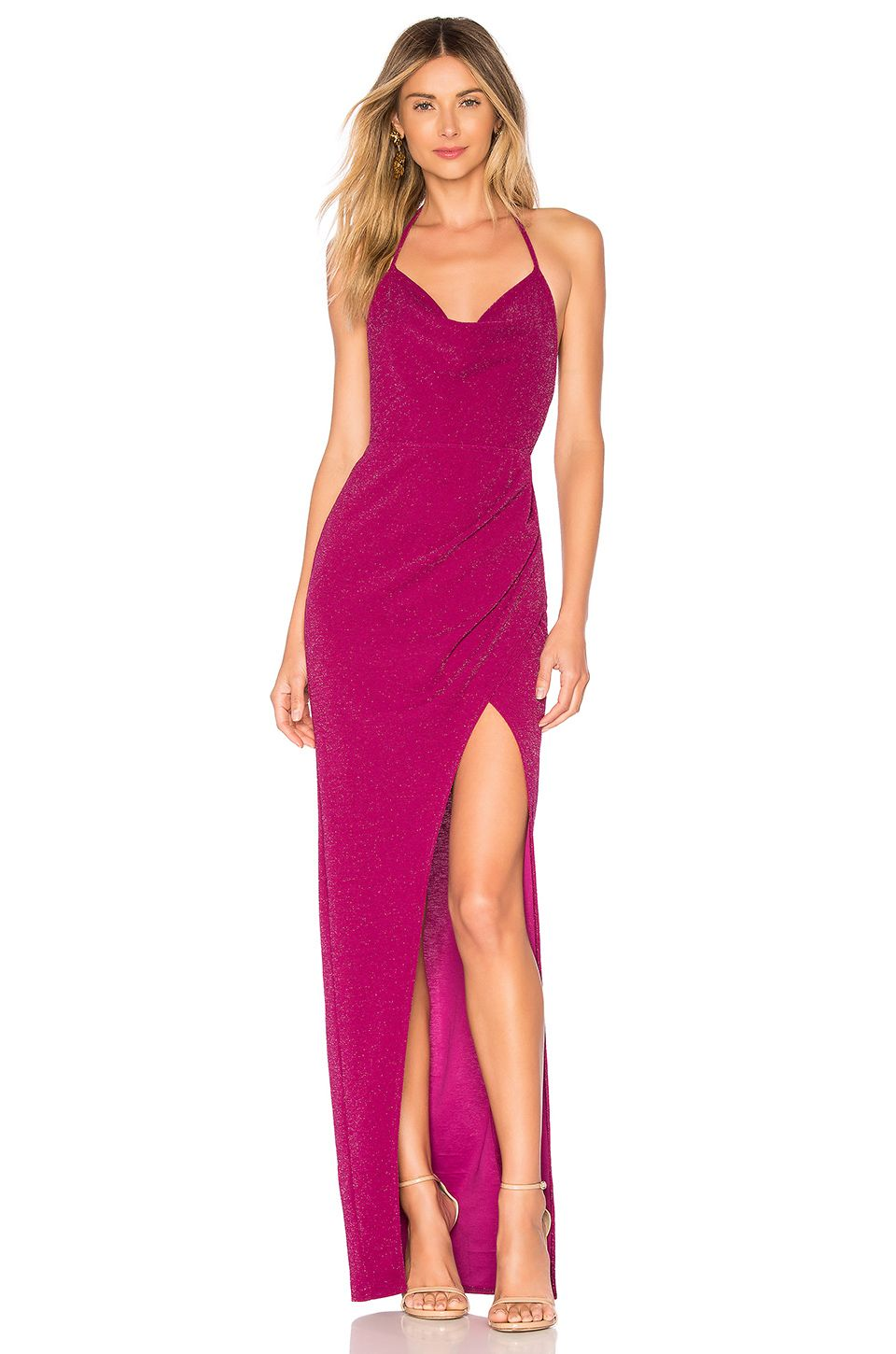 Revolve Revolve Dresses Magenta Dress Michael Costello No matter what type of evening wear you need to get to flatter your body shape, you can find them in our store. revolve dresses magenta dress