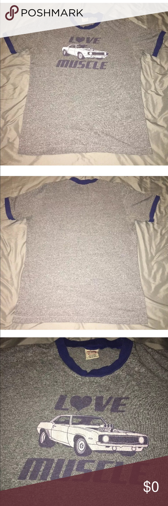 Abercrombie Fitch Authentic Love Muscle Vintage Measurements Are In Inches Taken While Clothing Is Laying Flat Armpit To Abercrombie How To Wear Tee Shirts