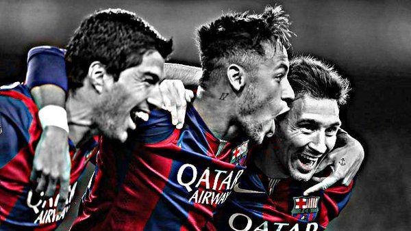 Leo Messi On Twitter Wallpaper Trio MSN Barcastuff