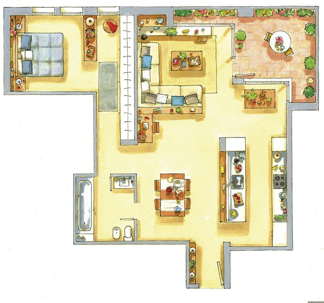 Un piso peque o con ideas ingeniosas de almacenaje for Casas para almacenaje