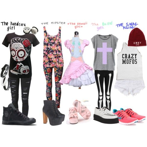 quothardcorehipsterkawaiipastel gothswag asianquot by