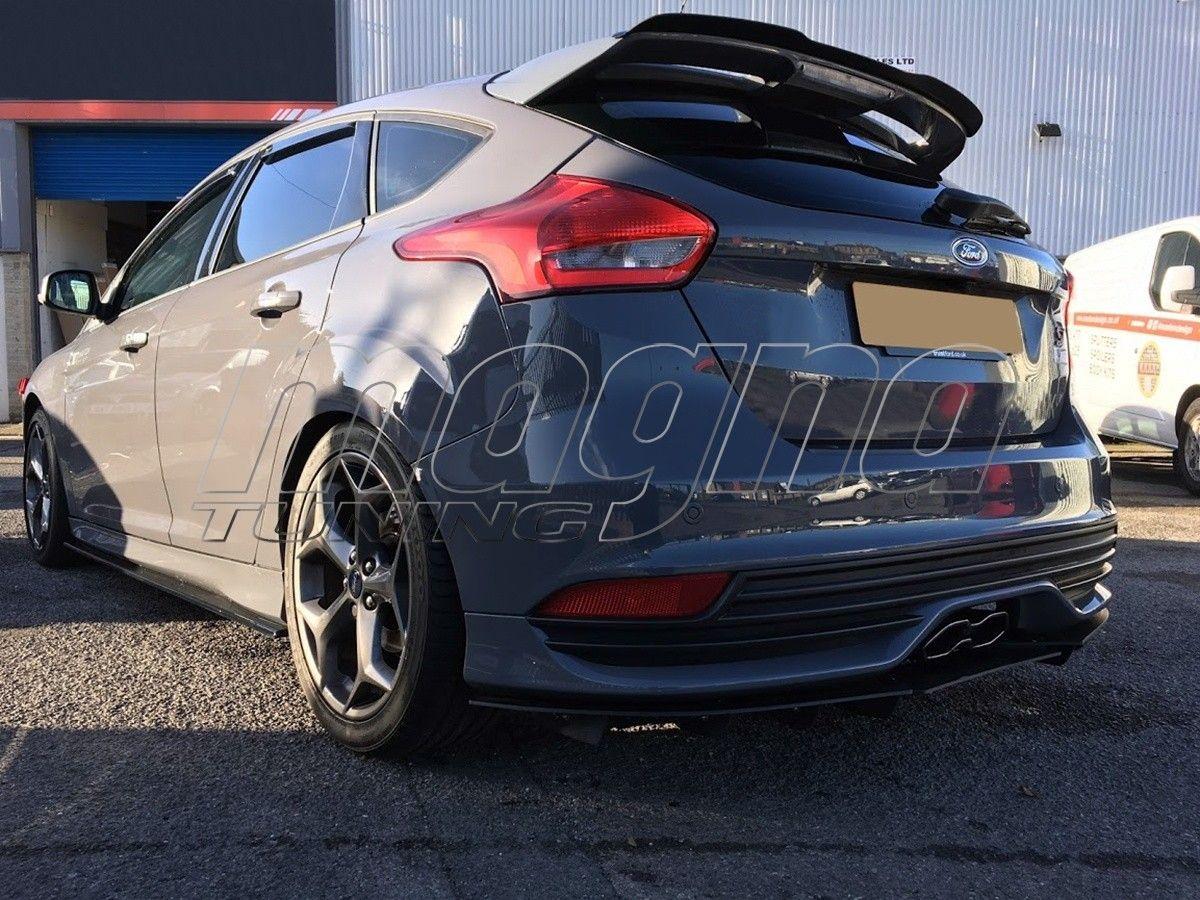 Ford Focus 3 St Raceline Rear Bumper Extension Compras Cosas