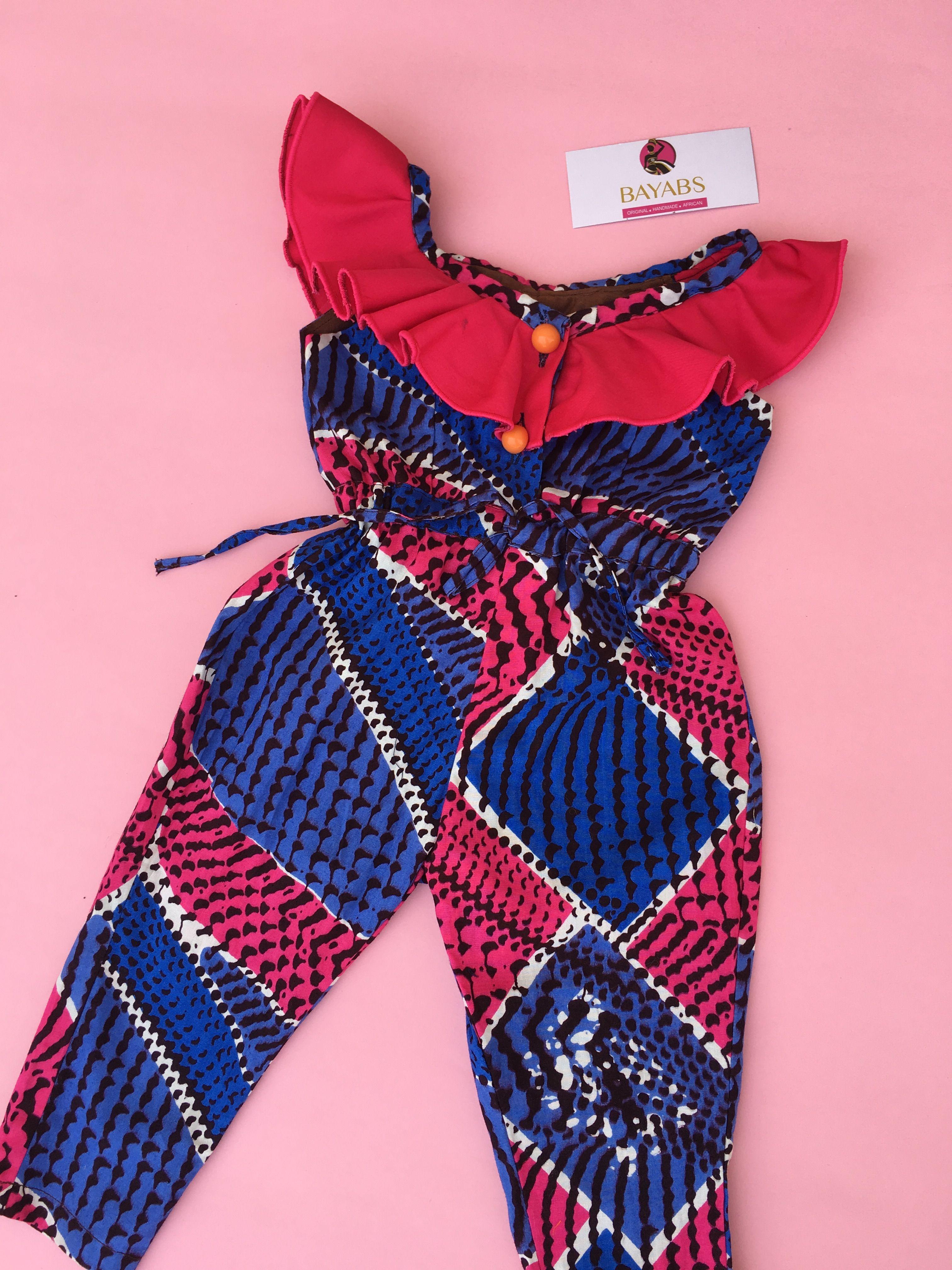 3a89e8ee3 African print wear. Ankara romper. African print jumpsuit.