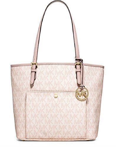 1c85b8cb8ee4 Michael Kors Large Snap Pocket Tote - Ballet   Click on the affiliate link  Amazon.