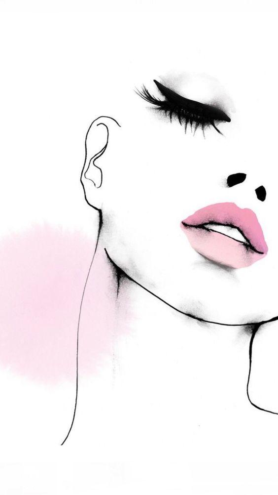Estilo en rosa y negro