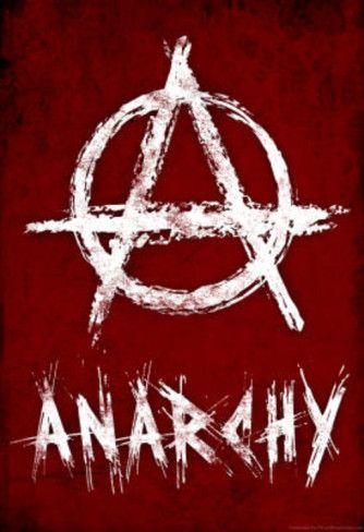 Anarchy Symbol Resistance Poster Tattospericings Pinterest