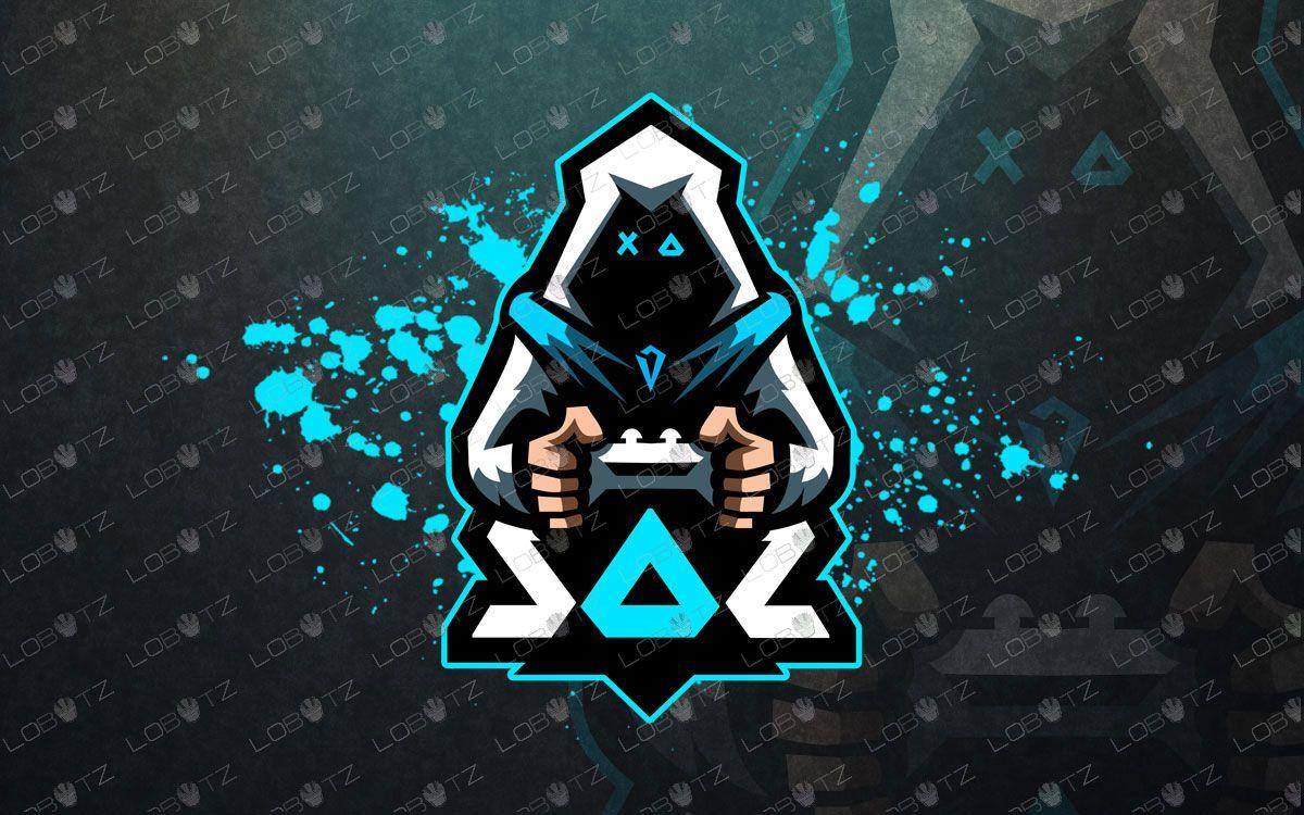 Awesome Gamer eSports Logo Gamer Mascot Logo Lobotz
