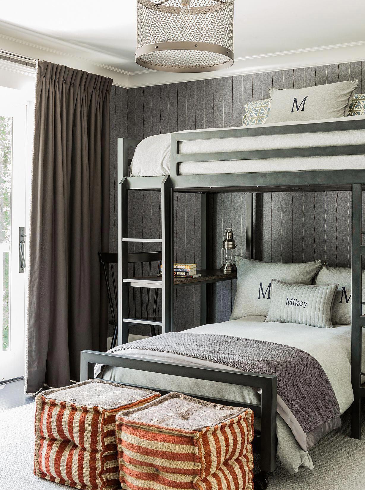 5 Wonderful Ideas Of Triple Bunk Beds For Your Kids Bedroom Interior Design Bunk Bed Designs Bunk Beds Boys Kids Bunk Beds