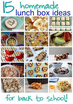 Creative School Lunch Ideas Brought To You By The Smartshopper Grocery List Organizer Use The