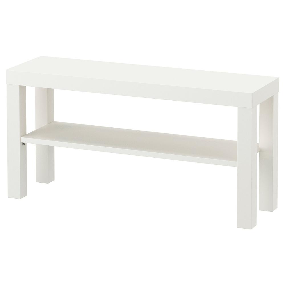 Lack Mueble Tv Blanco 90x26x45 Cm Ikea Tv Bench Ikea Ikea Lack [ 1000 x 1000 Pixel ]