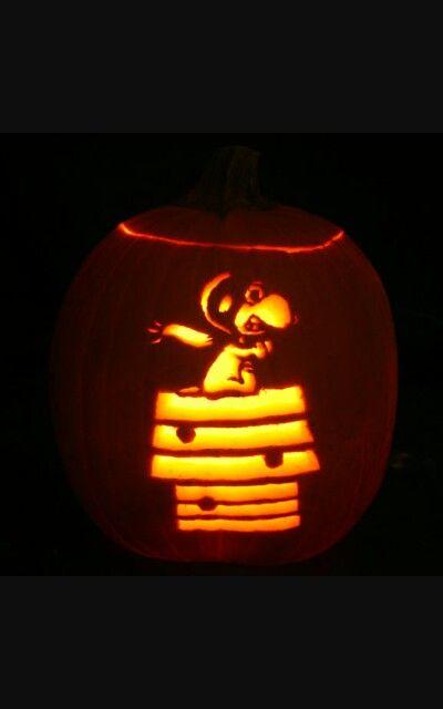 Pilot Snoopy Spooky Halloween Pumpkins Holidays Crafts Decorations