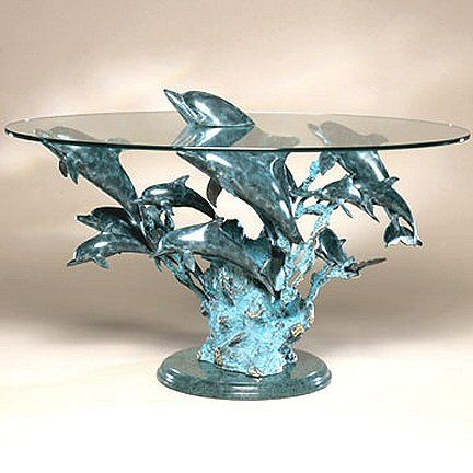 Lovely 12 Dolphin School Coffee Table