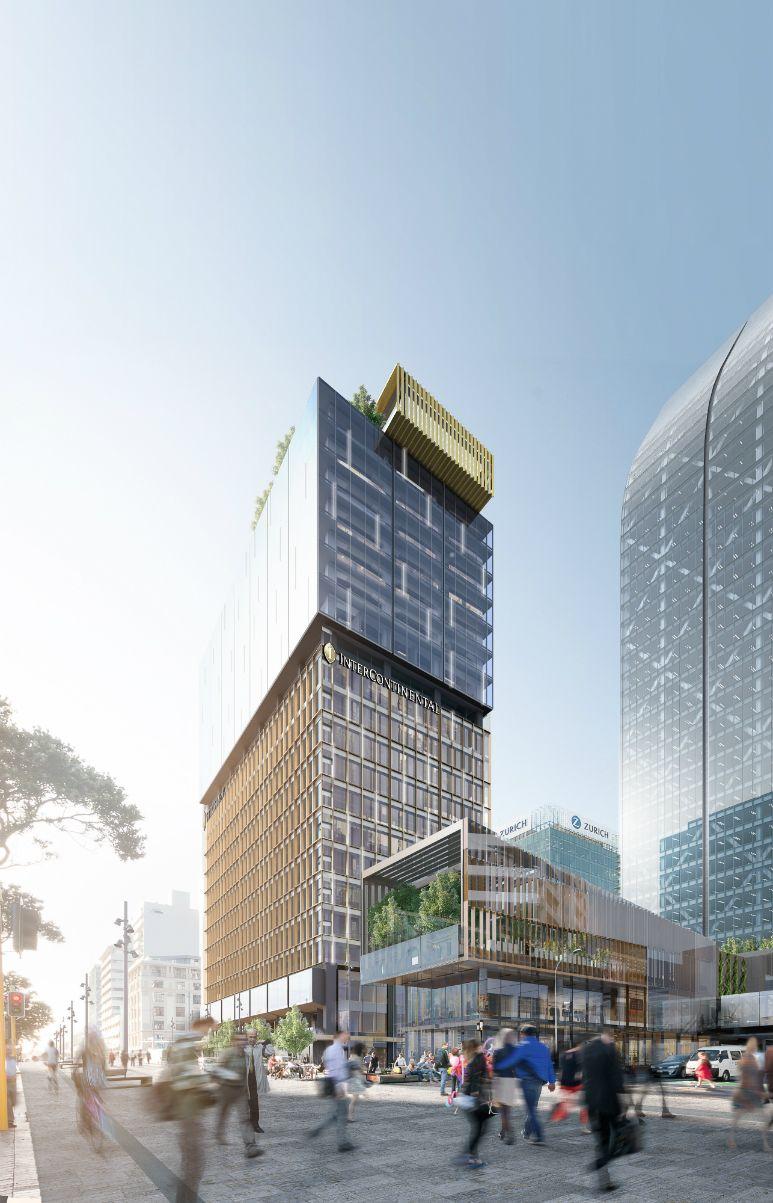 Intercontinental Auckland Open In 2022 Hotel Exterior