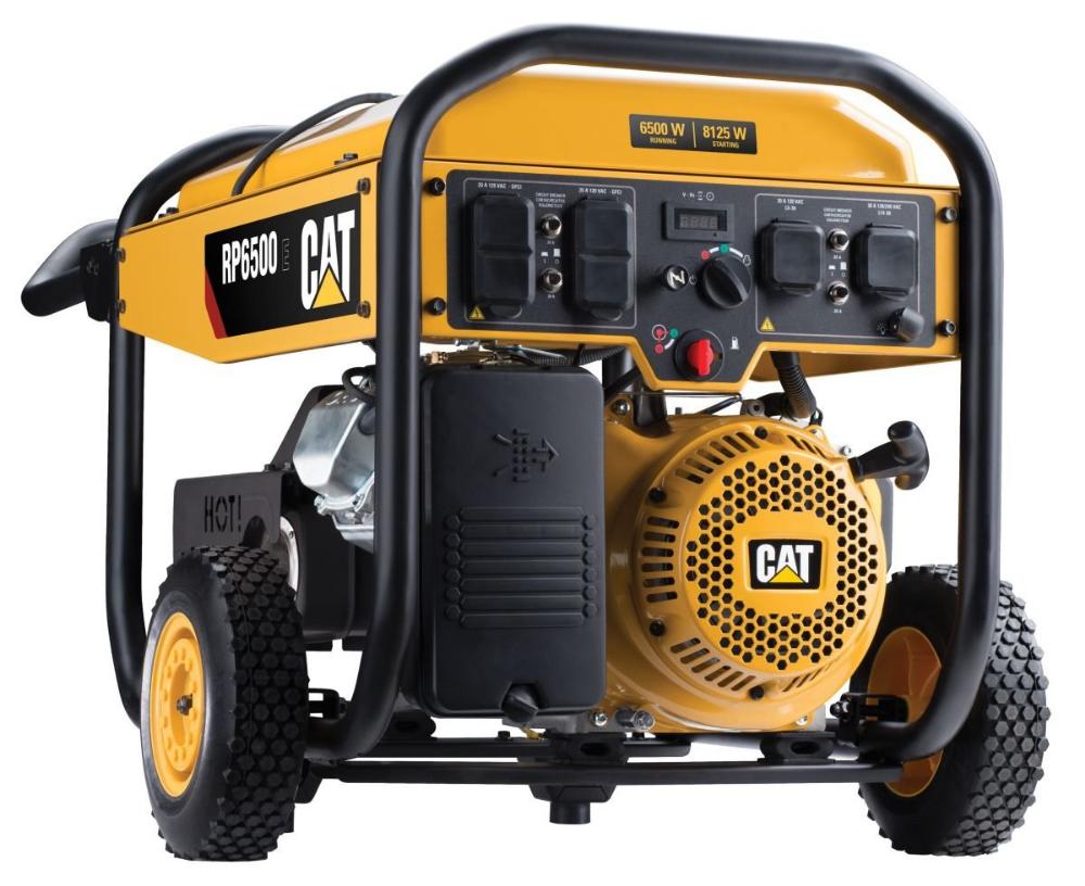 Cat RP6500E 6500 Watts Electric Generator Generador