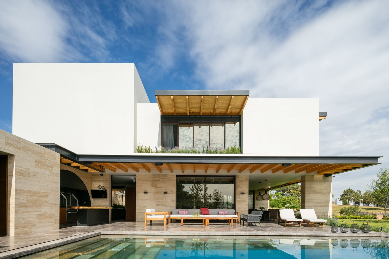 Galer a de casa chaza ae arquitectos 4 vivienda pinterest casas moderno y arquitectos - Casas prefabricadas guadalajara ...