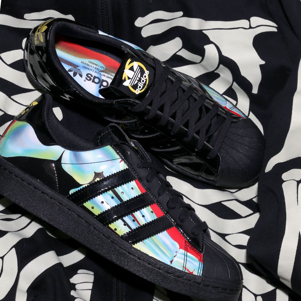 More Adidas X Rita Ora Perfection With These Skeleton Superstars Http Www Shoeconnection Co Nz Products Aduzns5f1ax Sneaker Head Sneakers Fashion Adidas