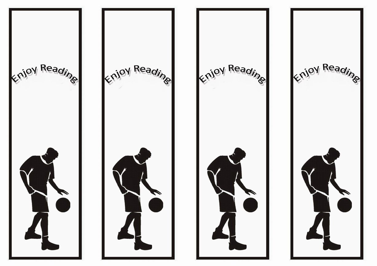 Basketball Themed Bookmarks