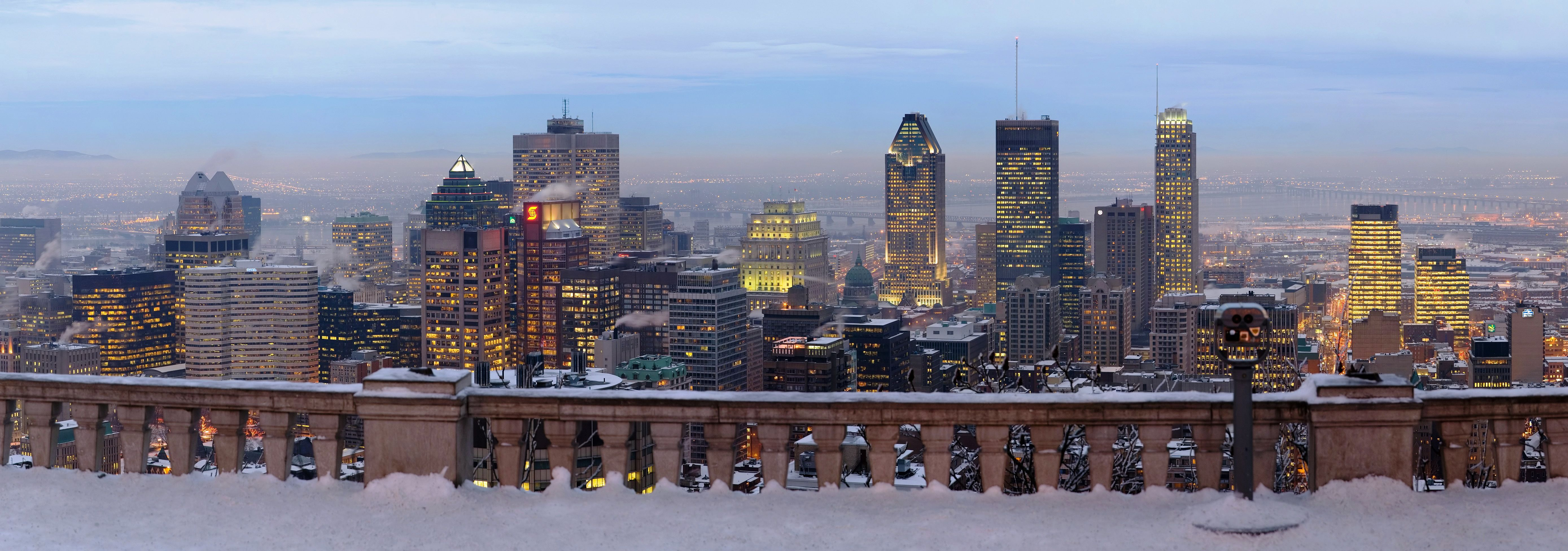 Quebec Montreal Montreal From Mont Royal New York Quebec City Paris London