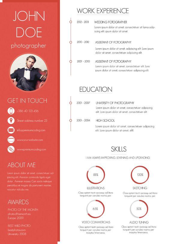 modern resume styles