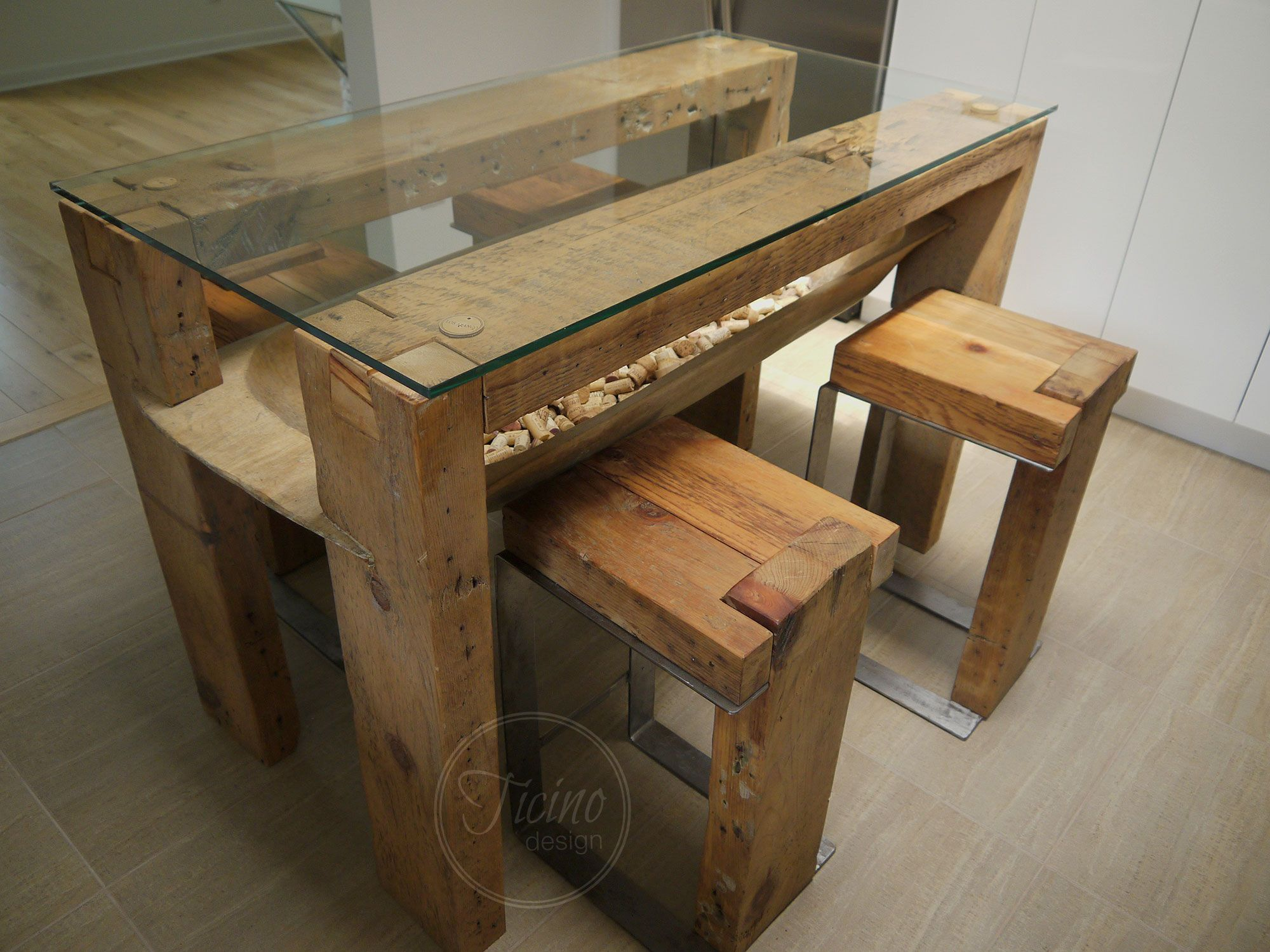 Kitchen Island Reclaimed Wood Furniture Dining Table Glass Top Dinning Table Kitchen Table Breakfast Bar Rustic Table Breakfast Table Modern Rustic Furniture Rustic Furniture Kitchen Table Wood