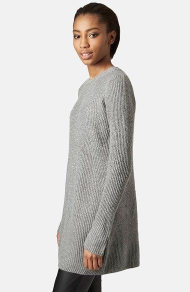 5b8e31e7e1 Topshop Rib Knit Sweater Dress available at  Nordstrom