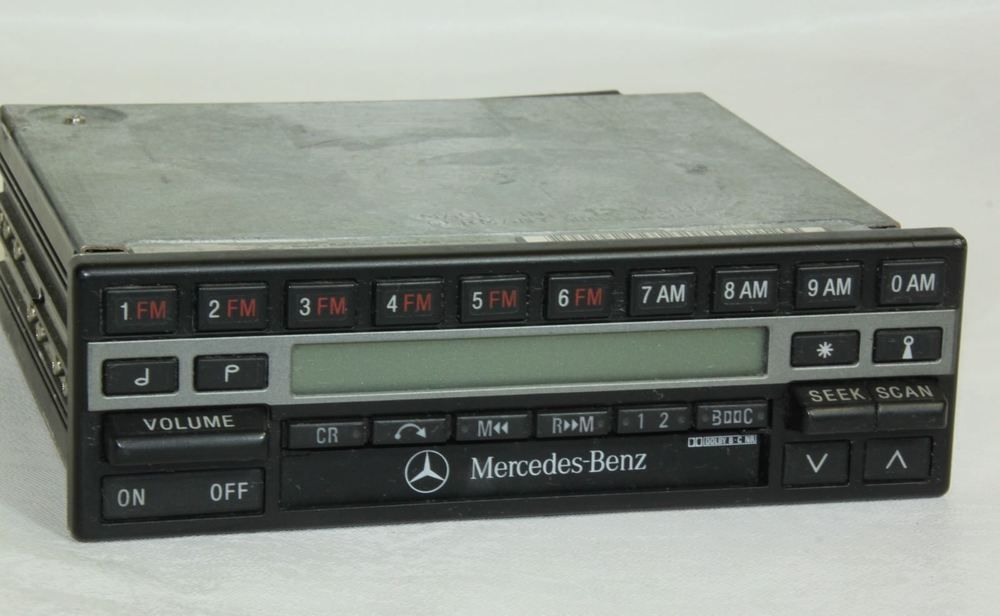 Becker Grand Prix Electronic BE-1480 Mercedes Radio W124