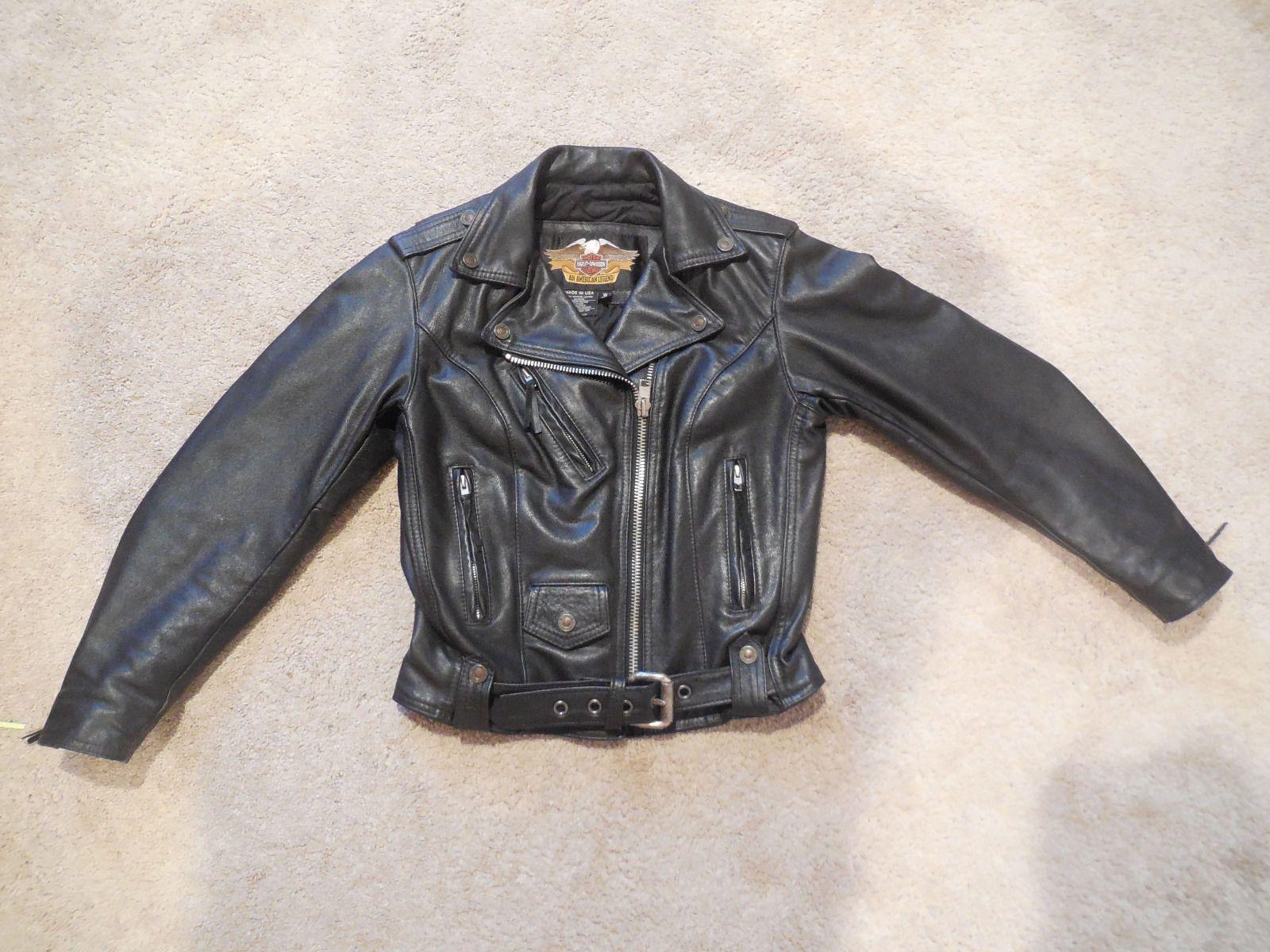 Harley Davidson Women Leather Jacket Xs Tipos De Motos [ 1200 x 1600 Pixel ]