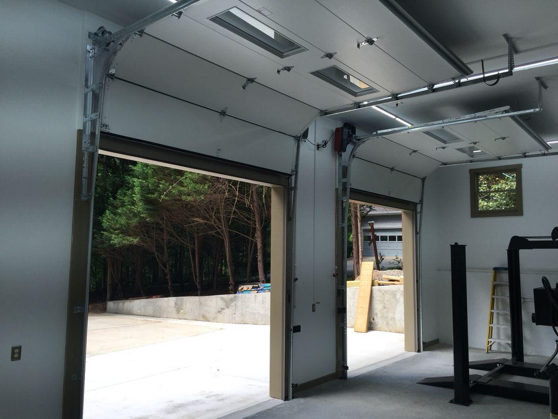 Garage Door Vertical High Lift And Liftmaster Jackshaft Openers