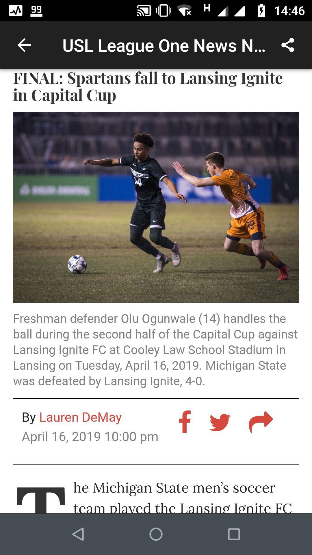 USL League One News Now Sport