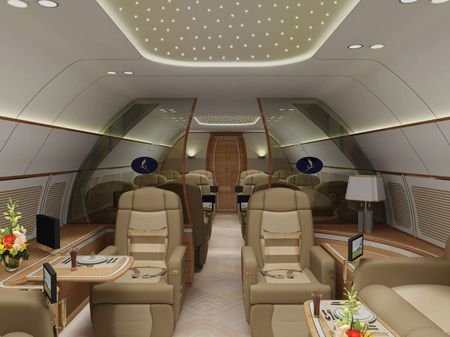 Boeing Business Jet Private Jet Interior Boeing Business Jet