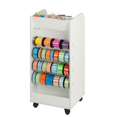 Honey Can Do Rolling Craft Cart With Drawers Craft Storage Cart