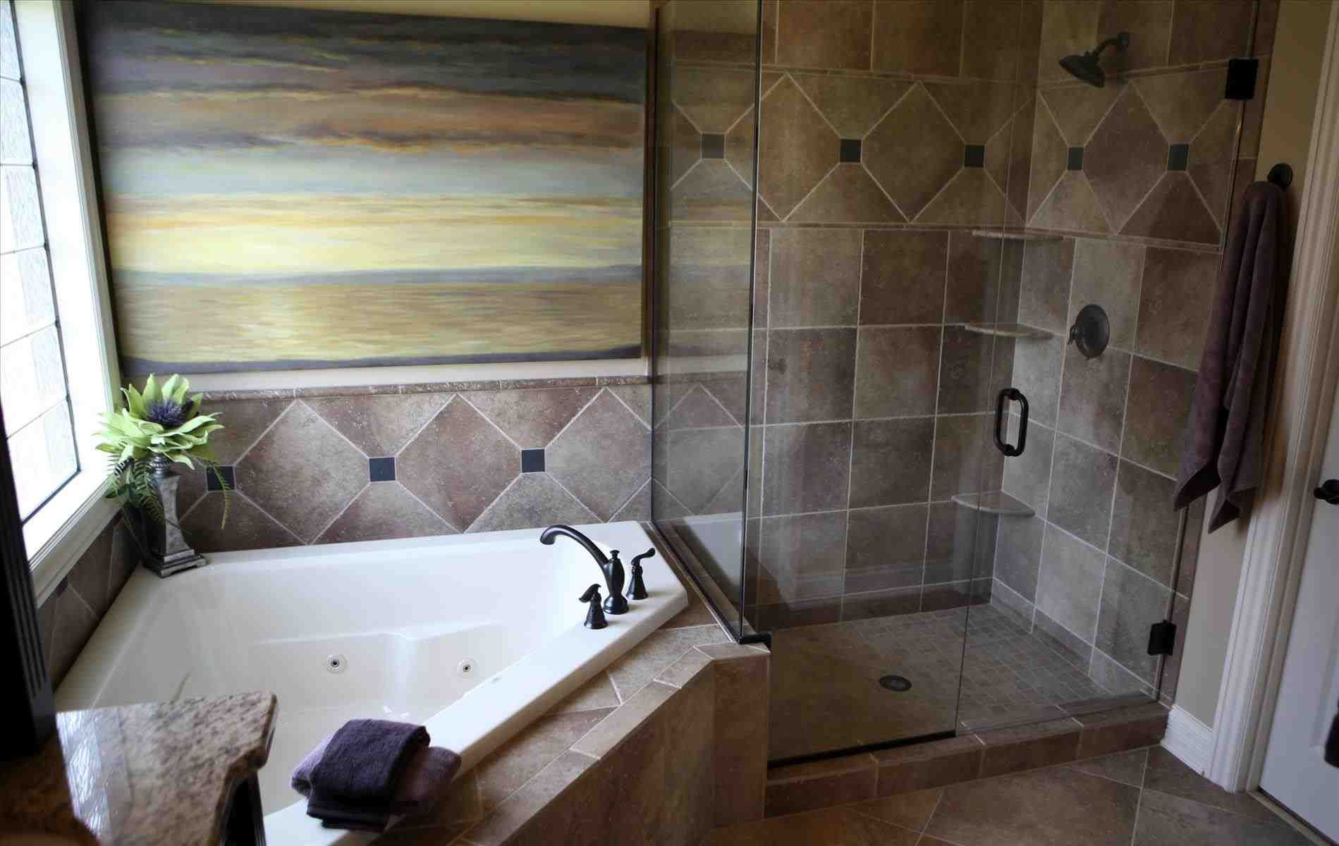 This garden tub decor - gorgeous mosaic tile around bathtub 35 terra ...