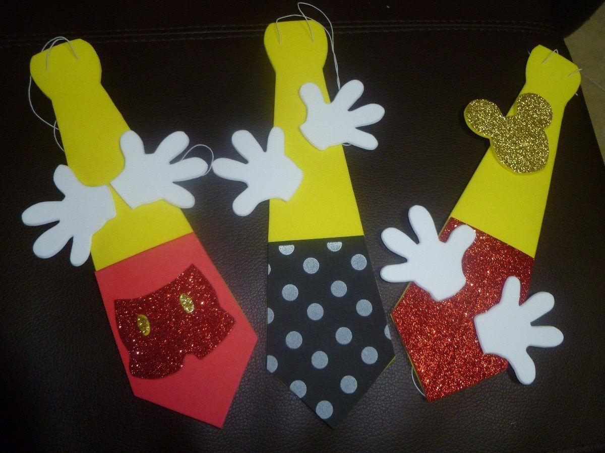Manualidades de mickey mouse para fiestas infantiles imagui for Manualidades decoracion infantil