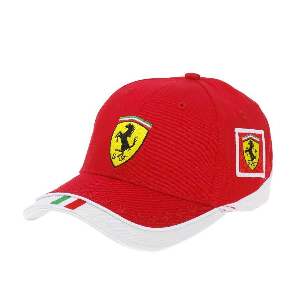 Kid S Team Ferrari Cap Ferrari Store Ferrari Cap Caps Hats