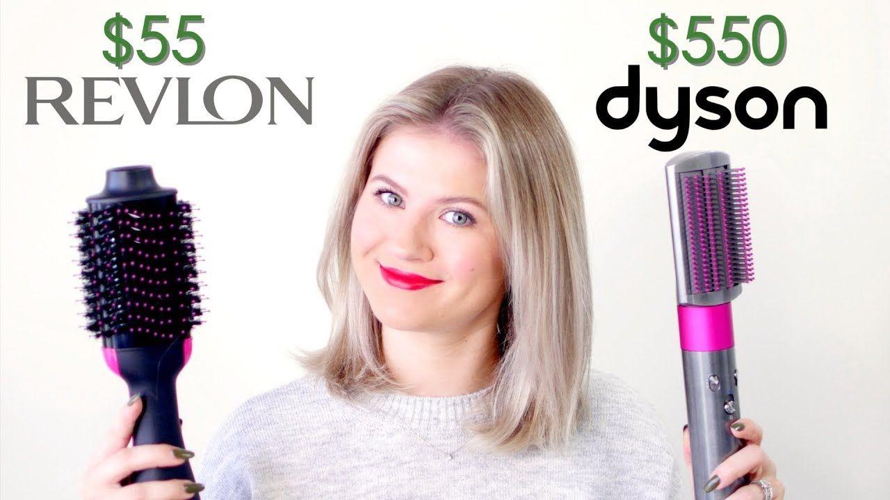Dyson Airwrap Vs Revlon One Step Hair Dryer Milabu Youtube Dyson Hair Dryer Best Hair Dryer Hair Dryer Styler
