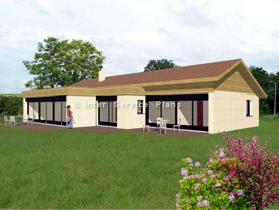 Exemples de plans de maisons plan maison gratuit en 3d et for Exemple de plan de maison