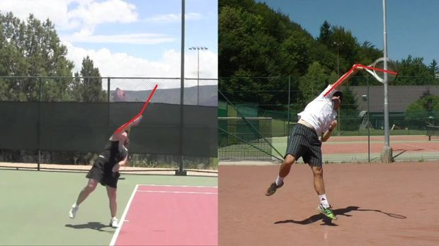The Pronation Of The Forearm Is The Key Element To A Powerful Serve Tennis Tennis Serve Tennis Doubles