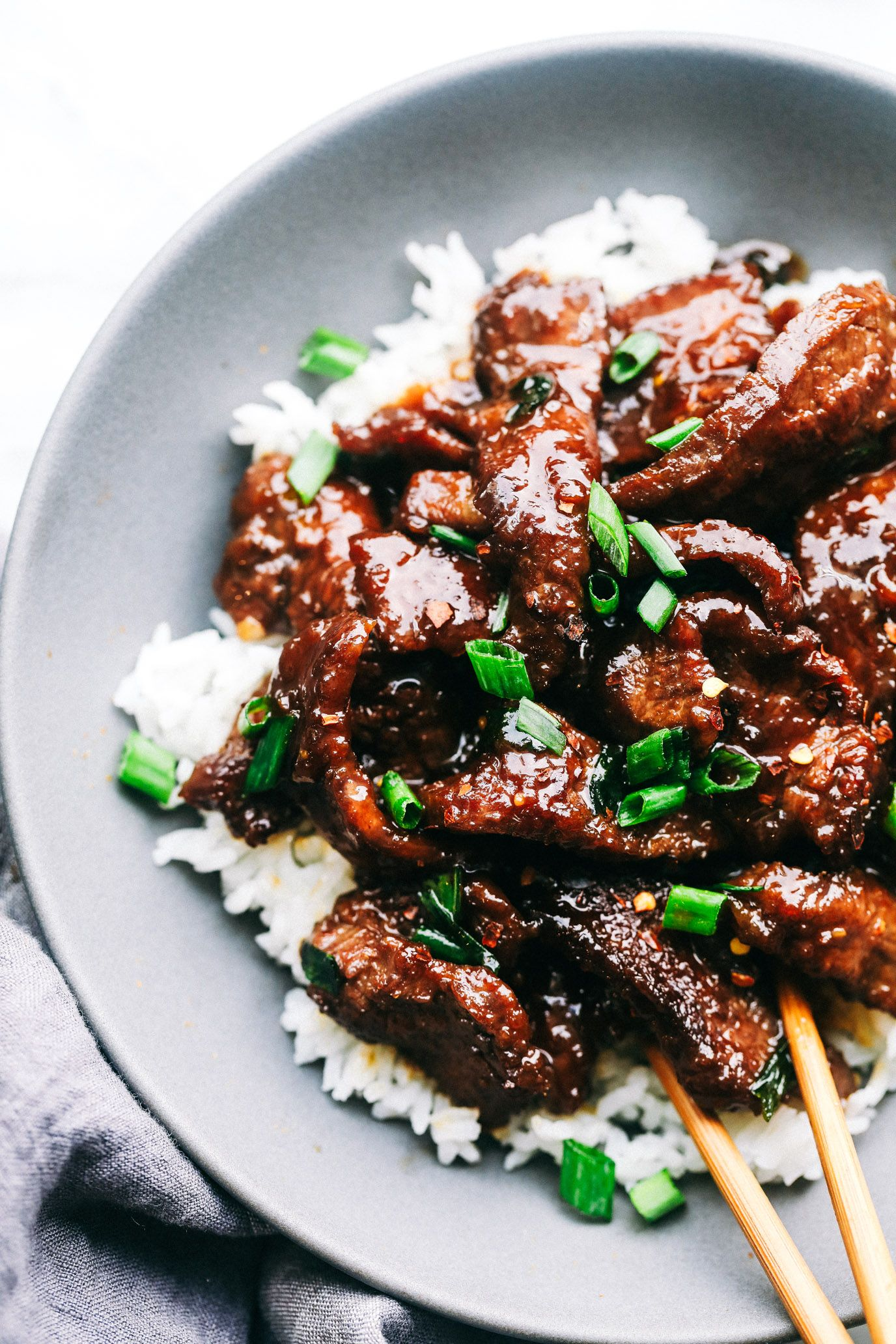 Super Easy Mongolian Beef Tastes Just Like P F Changs Recipe