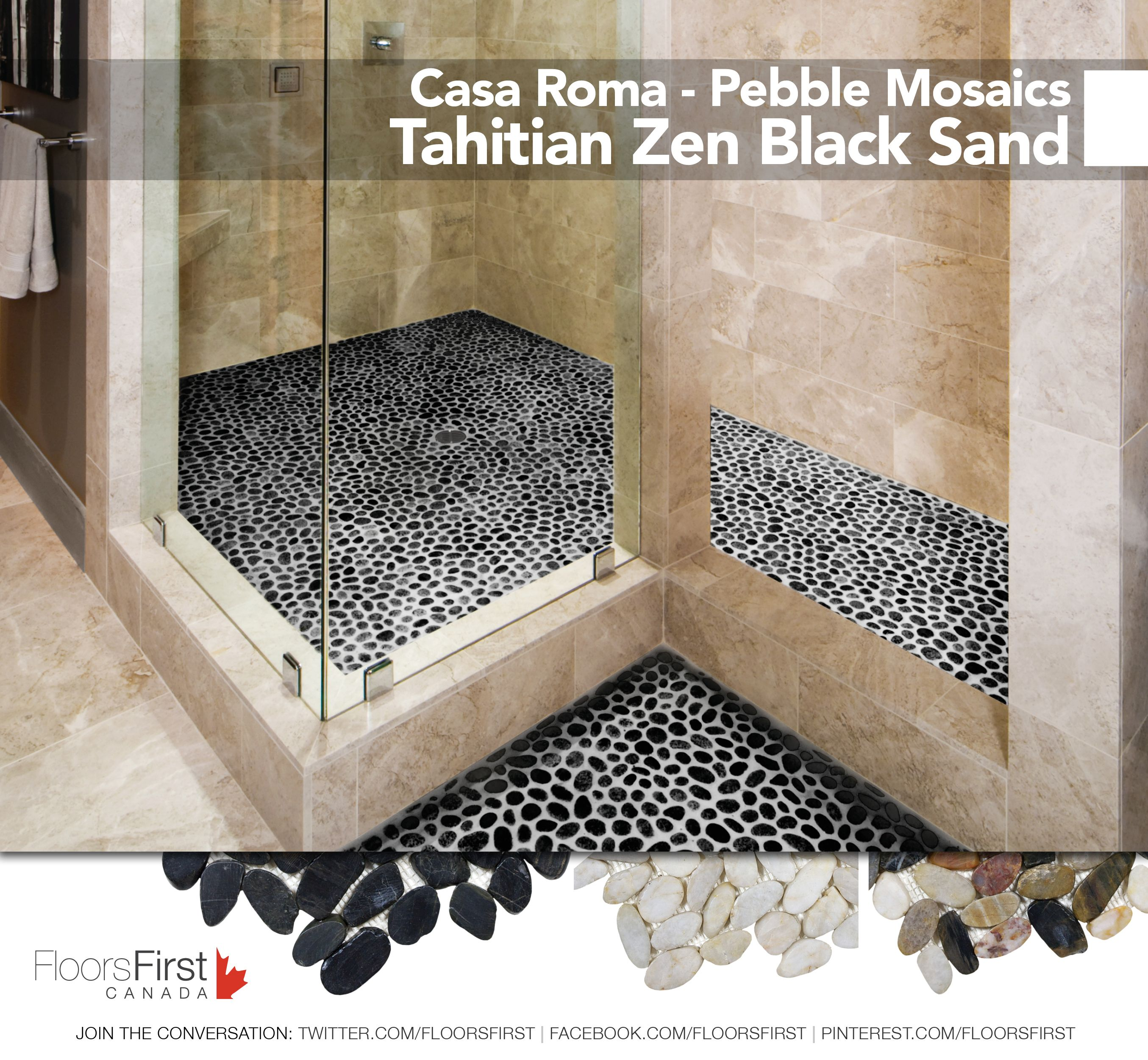 Casa roma pebble mosaics flooring ceramic tiles design casa roma pebble mosaics flooring ceramic tiles design decor doublecrazyfo Gallery