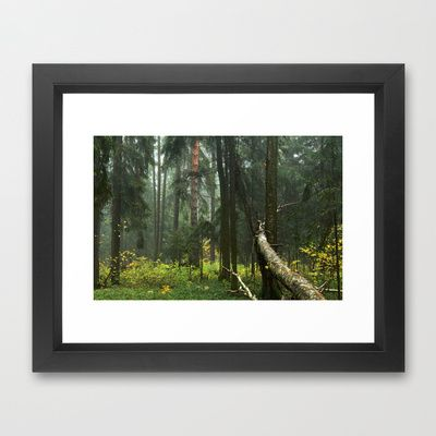 Forest#4 Framed Art Print by Armine Nersisyan - $37.00