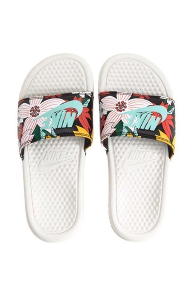 e41af998fc24d3 Nike  Benassi JDI  Print Slide Sandal (Women)