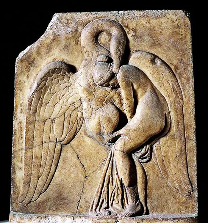 Leda And The Swan Marble Relief Found Argos From Roman Period Circa 50 100 Ad At The British Museum Leda British Museum Ancient