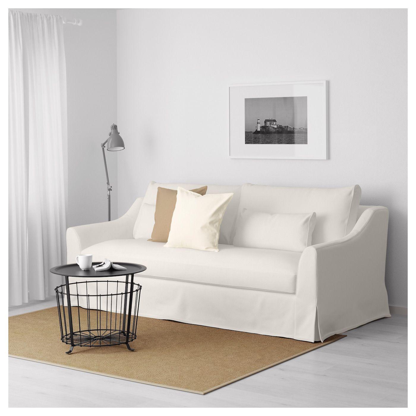 FÄRLÖV Sofa, Flodafors white IKEA Love seat, Ikea sofa