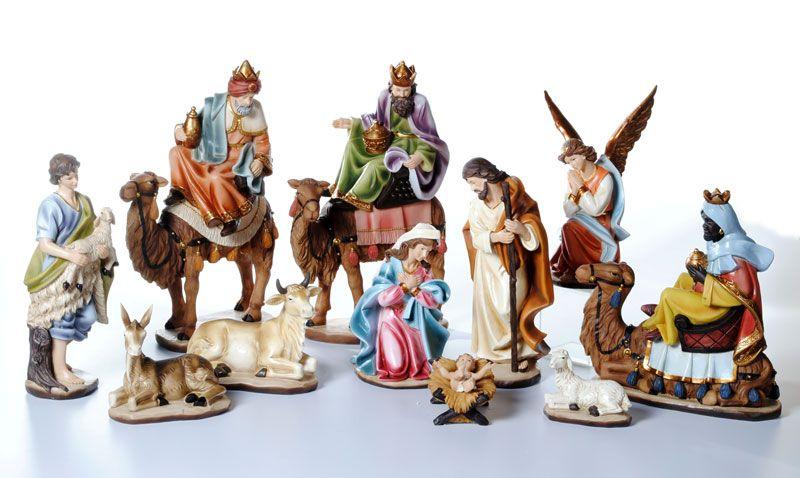 santini nacimientos navide241os belenes nativity