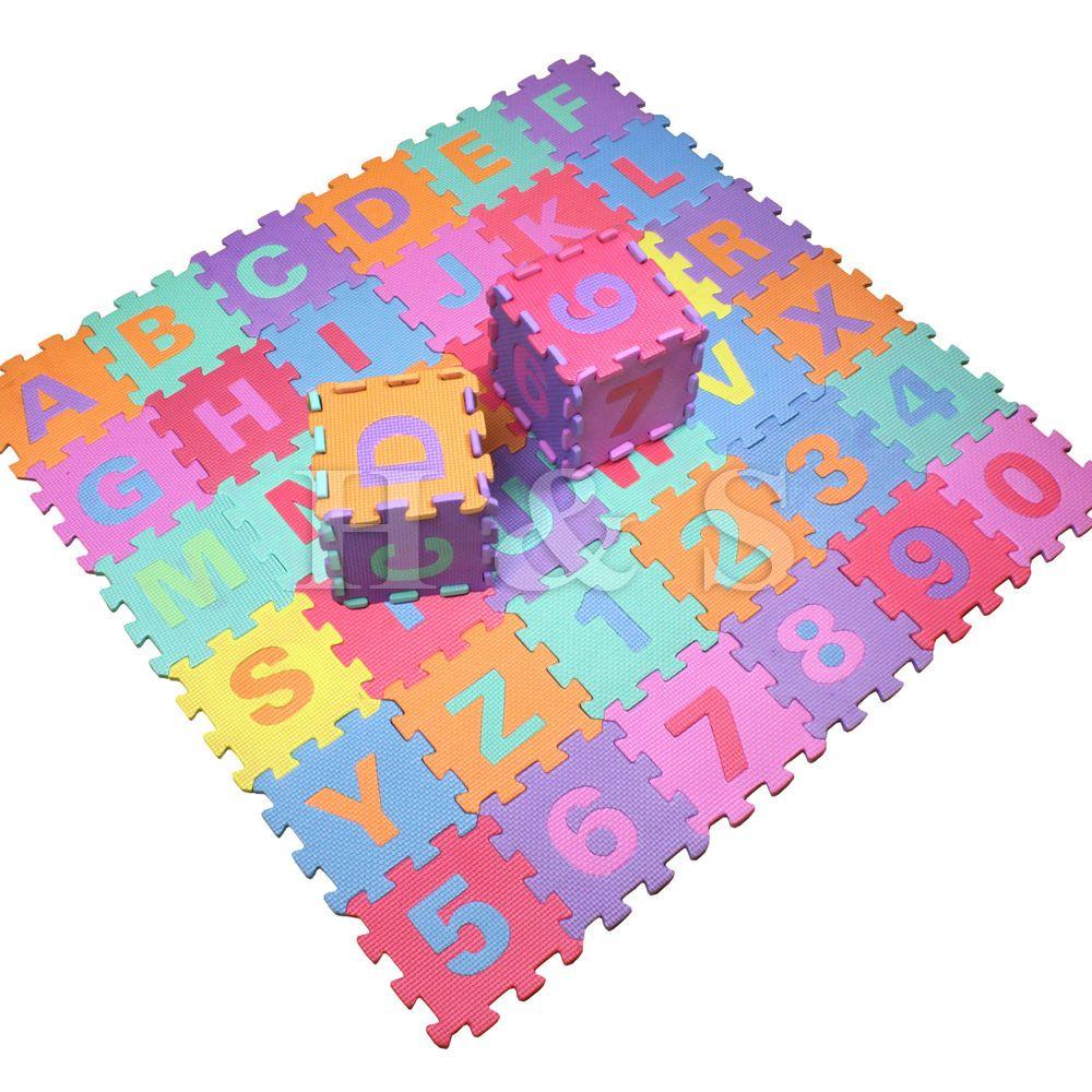 36pcs soft eva foam baby children kids play mat alphabet number 36pcs soft eva foam baby children kids play mat alphabet number puzzle jigsaw dailygadgetfo Images