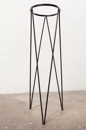 Tall Retro Metal Plant Stand