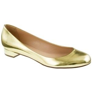 J.Crew Janey metallic flats