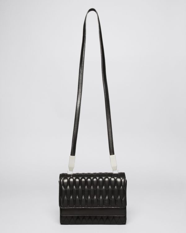 Theory Leather Quilted Shoulder Bag - Your Gift with Purchase!