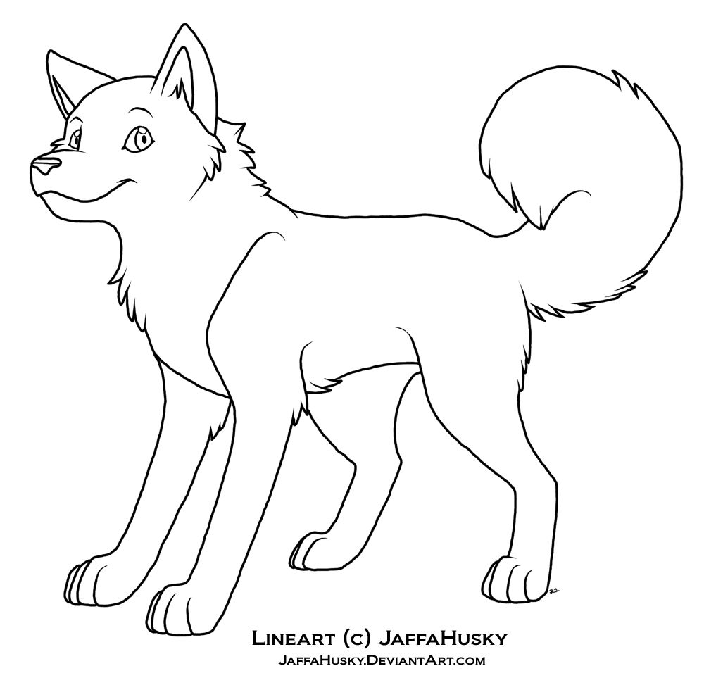 44++ Free husky dog coloring pages ideas