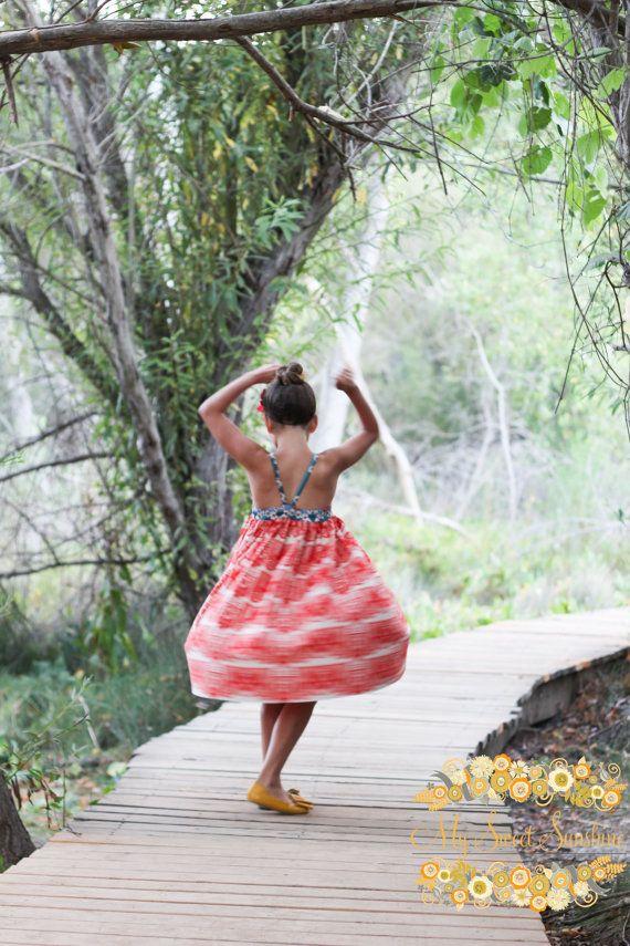 NEW Tomato Banner Dress Sizes 2 3 4 5 6 7 8yr on Etsy, 49